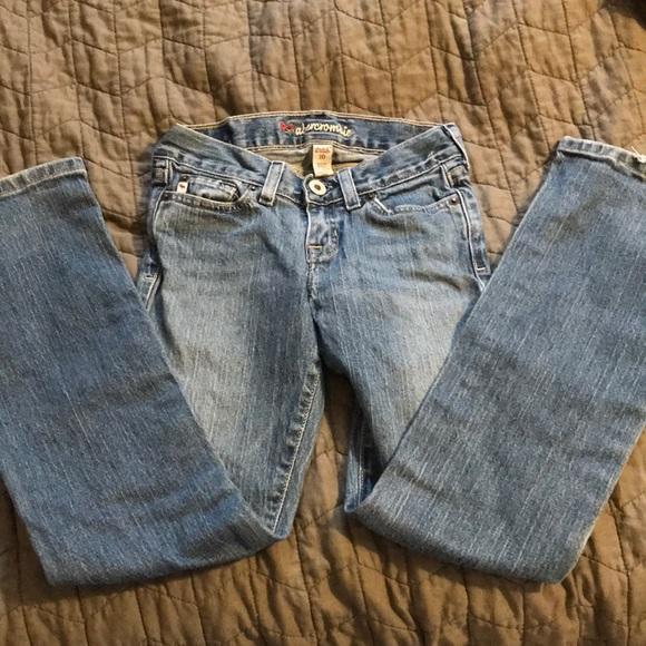 2/$8 Girls Abercrombie Jeans